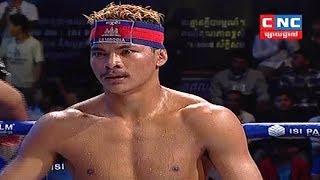 Lao Chantrea vs Rongnapha(thai), Khmer Boxing CNC 22 April 2018, Kun Khmer vs Muay Thai