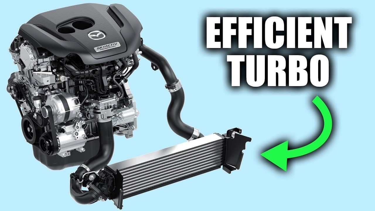 Mazda's Secret To Efficient Turbo Engines