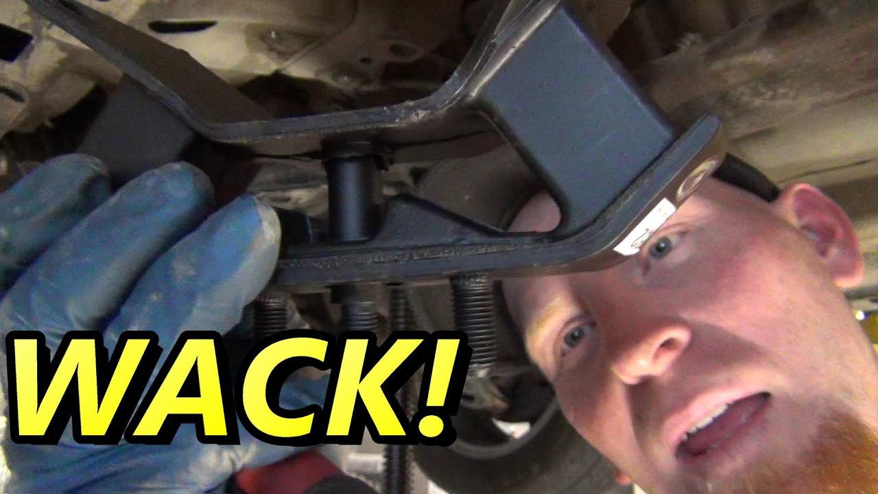 small resolution of subaru transmission mount how to replace