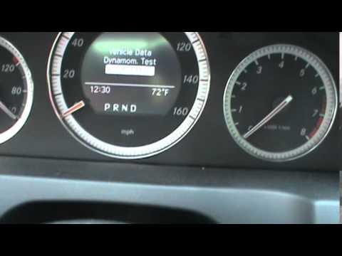 Reset Mercedes C-Class Service Indicator