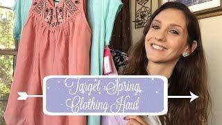 TARGET Spring Clothing Haul!! 2016