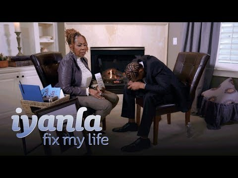 Donnie McClurkin -  Iyanla's Exercise to Change a Man's Perspective