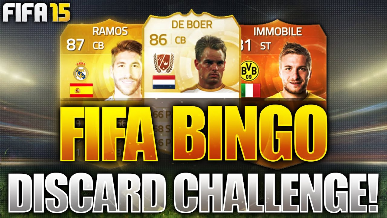 FIFA BINGO!!! OMFG LEGEND & MOTM DISCARD CHALLENGE!!! Fifa 15 Discard Pack Opening