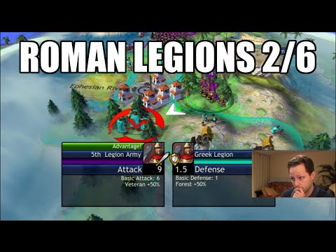 Civilization Revolution - Roman Legions 2/6