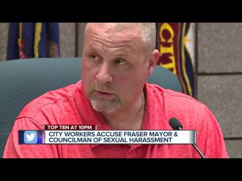 City Workers Accuse Fraser Mayor And Councilman Of Sexual Harassment