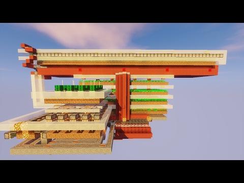 minecraft fully automatic universal crop farm 1.11+
