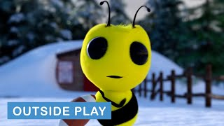 Benny & Snowy Play Catch | Benny the Bee