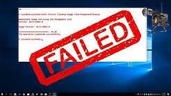 Windows 10 - SFC /scannow failed & DISM failed  (Subscribe Me, please)