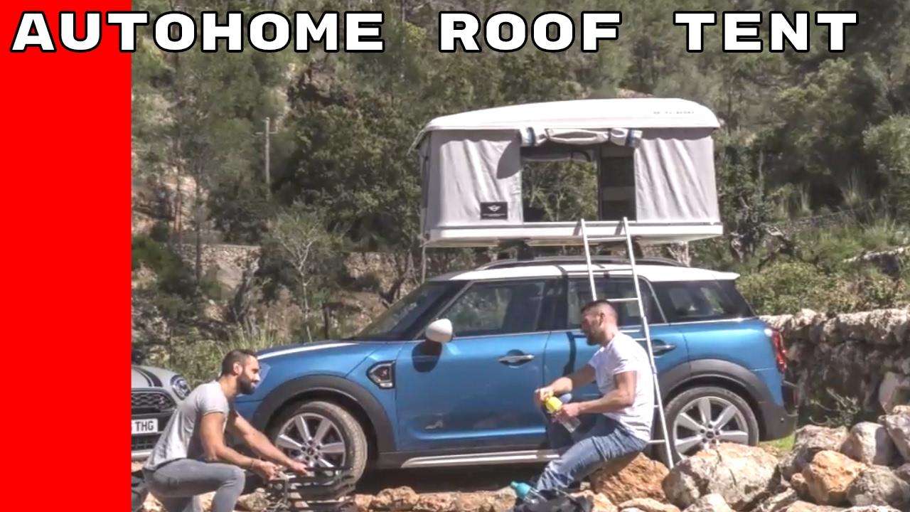 Mini Countryman Autohome Roof Tent Youtube