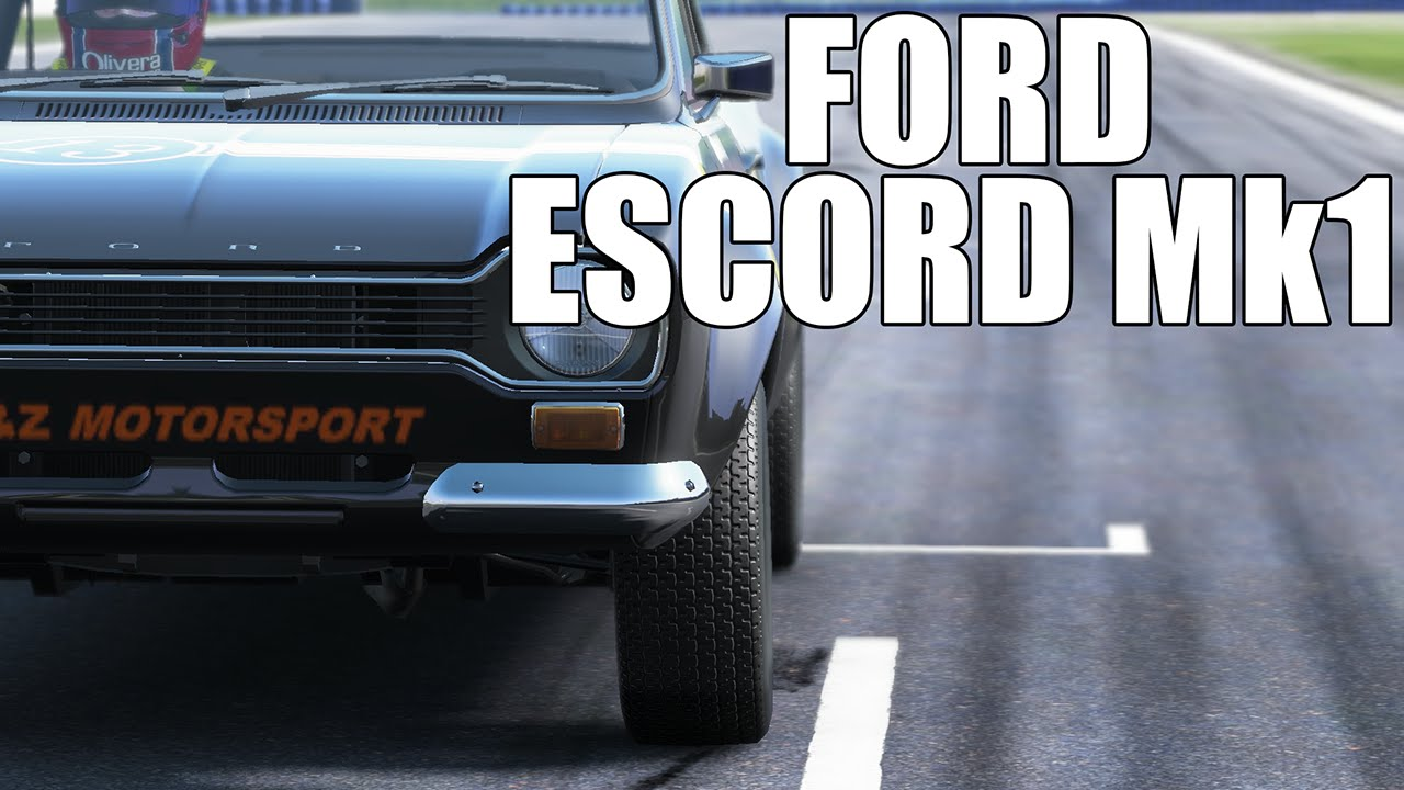 Ford Escort Mk1 - Project Cars Quick Race Gameplay Full HD