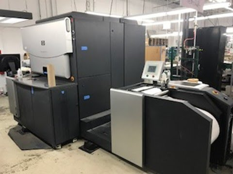 2009 HP Indigo WS6000 roll to roll digital press 4 color