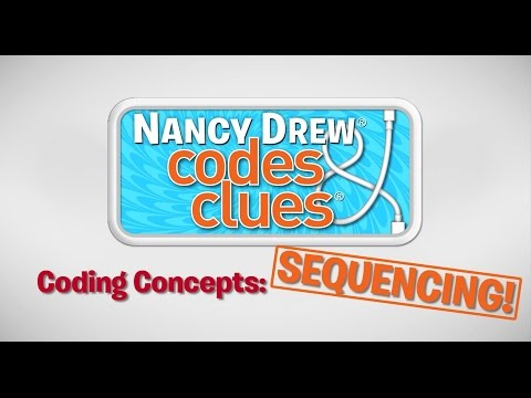 Coding Concepts: Sequencing in a Machine | Nancy Drew: Codes & Clues | Hi Kids