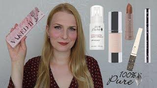 100% Pure | Čistá přírodní dekorativní kosmetika | Recenze, Swatche, Líčení