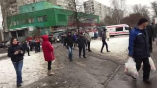Ужасная Авария, в Москве на улице ,Дубнинская