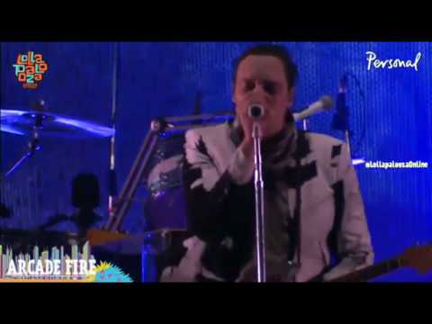 Arcade Fire - we exist - live Lollapalooza Argentina 2014