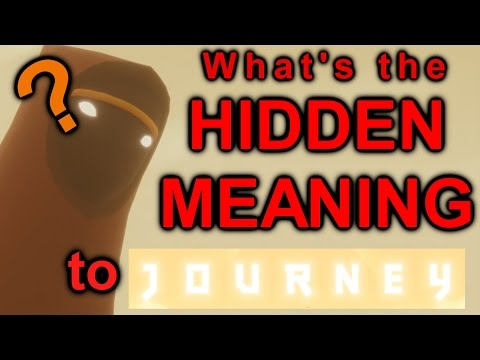 What's the HIDDEN MEANING to JOURNEY?? || Review and Theory