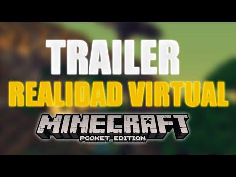 TRAILER REALIDAD VIRTUAL EN MINECRAFT POCKET EDITION, TRAILER VIRTUAL REALITY IN MCPE | 0.14.2