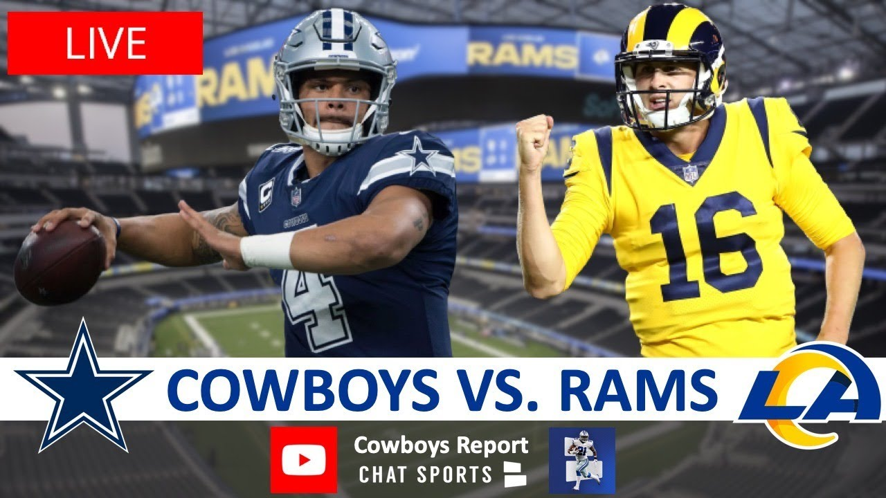 Cowboys vs. Rams Live Streaming Scoreboard, Play-By-Play, Highlights & Stats | Sunday Night Foot