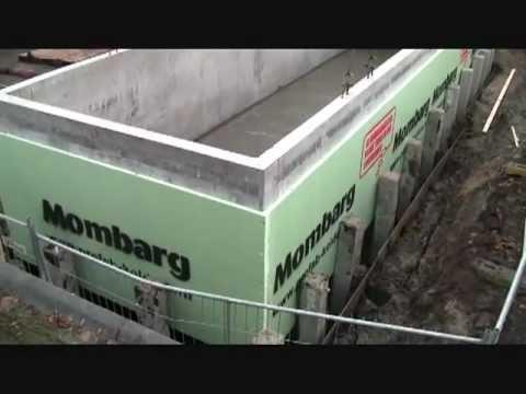 Prefab Kelder Prijs : Mombarg beton plaatsen prefab beton kelder ton prefab