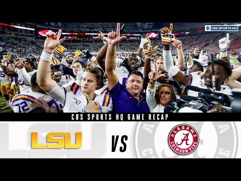 LSU vs. Alabama game recap: Can Alabama still make the playoff? | CBS Sports HQ