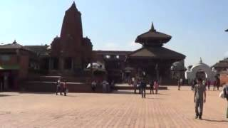 The Great Rajdarbar/ Darbar Square of Bhaktapur Rajdarbar | Kathmandu, Nepal - HD