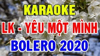 Karaoke Nhạc Sống Bolero Tuyển Chọn Những Bài Nhạc Vàng Xưa Mới Nhất | Liên khúc Hai Mùa Mưa
