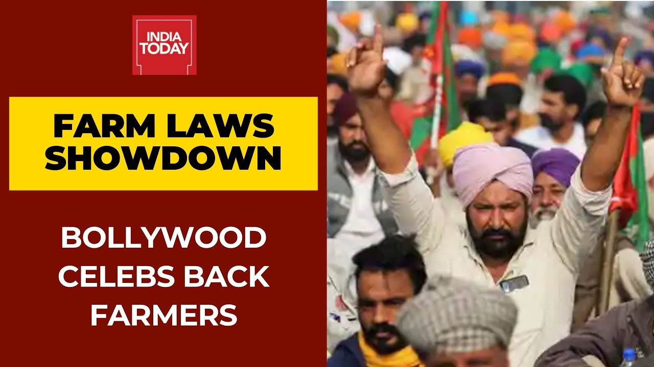 Download Bollywood Stars Back Farmers Protest Against Farm Laws