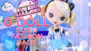 Unbox Daily: Kuu Kuu Harajuku G Doll PLUS Sushi Fashion Pack thumbnail