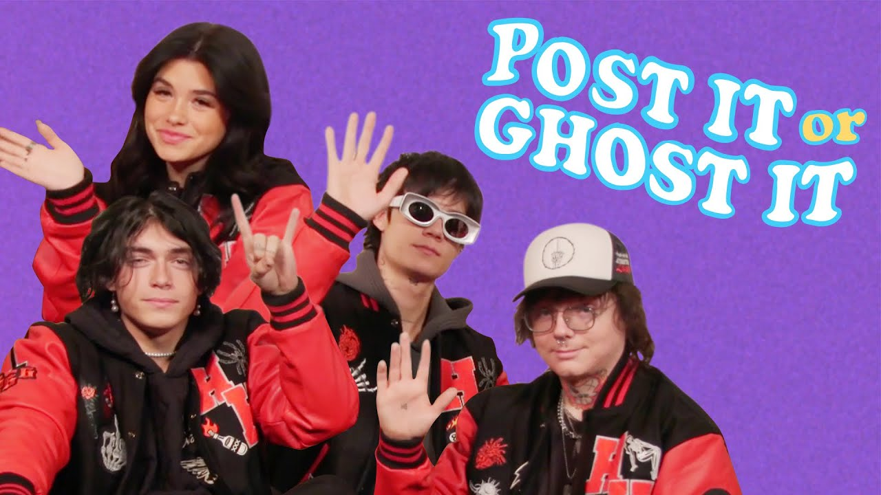 The Cast of Prom In Hell Ranks Blink-182, Paramore and More | Post it or Ghost it | Seventeen