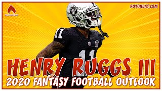 Henry Ruggs III 2020 FANTASY FOOTBALL Outlook 🏈
