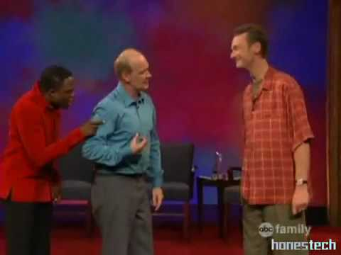 whose line is it anyway two line vocabulary