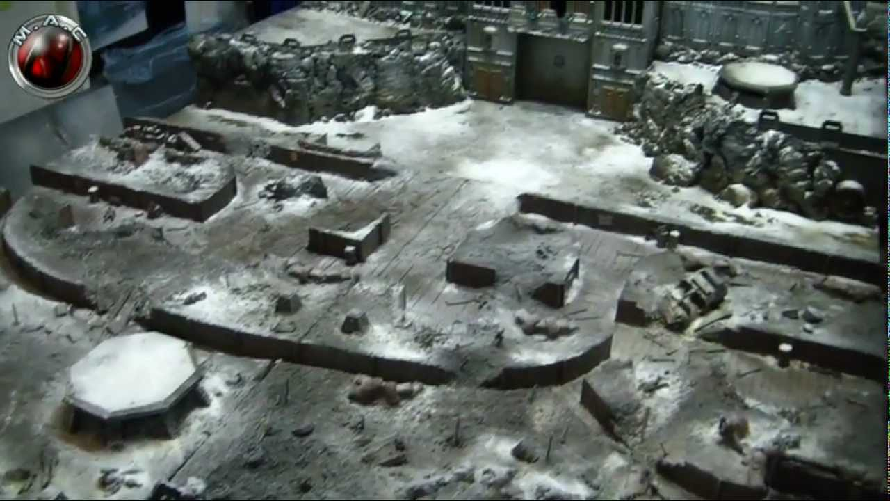 trench gaming table anyone for snow part 15 youtube