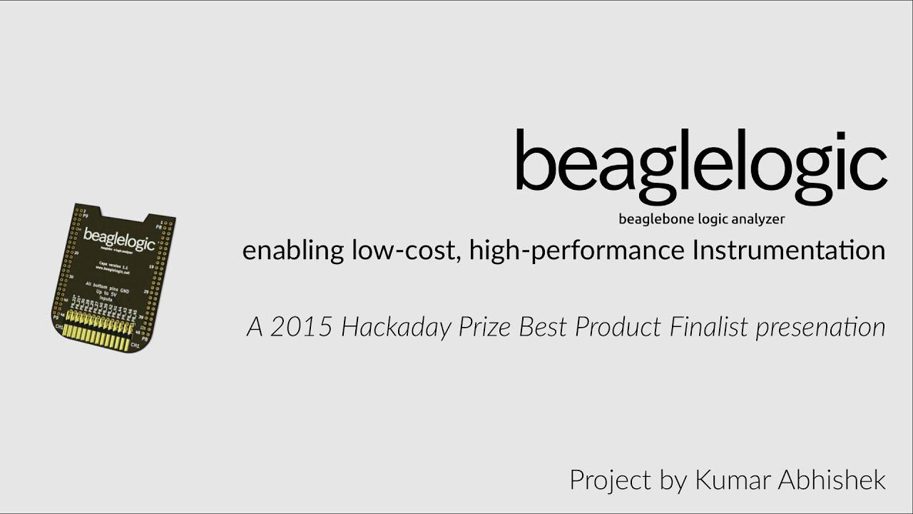 BeagleLogic | Hackaday io