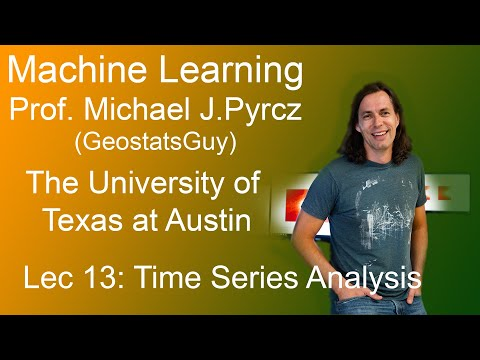 13 Machine Learning: Time Series Analysis