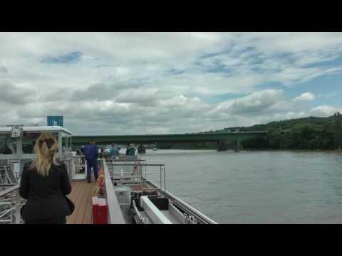 cruising the Rhine River from Rudesheim to Koblenz (6 of 7)