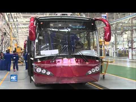 Yutong, autobús chino de nueva energía, rompe récord de ventas