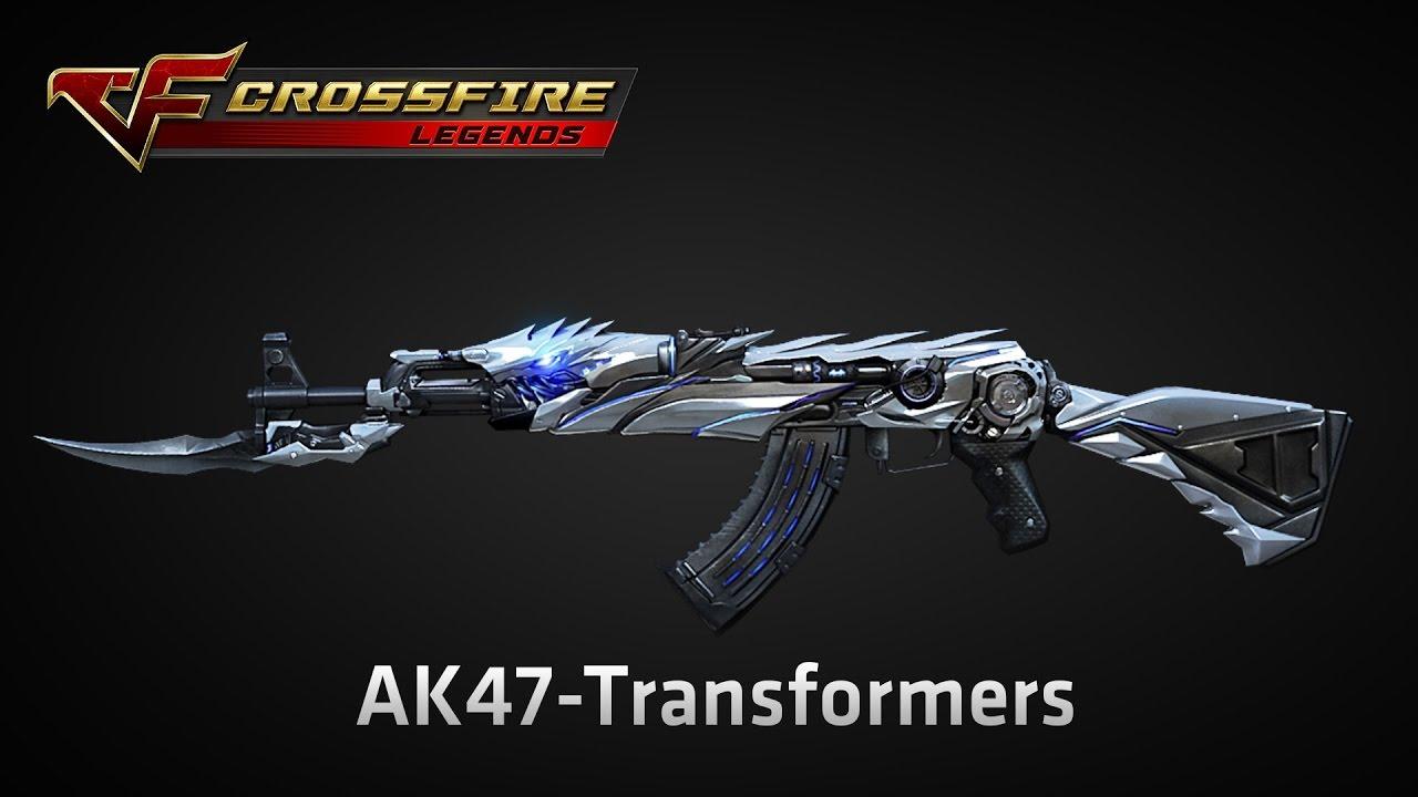Wikia Crossfirelegends: [ CrossFire: Legends ] AK47-TRANSFORMER