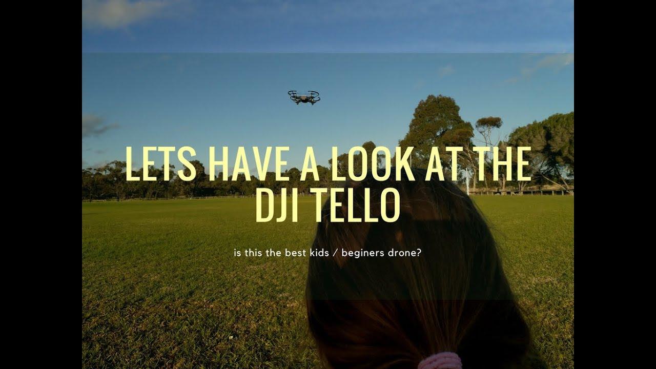 Best drone for kids - DJI Tello • Wyld Family Travel