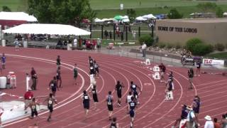 New Mexico State 5A High School 4x200 Relay - Men - Finals 5-18-2013