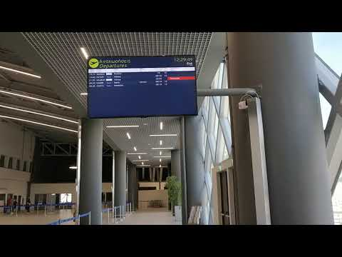 Thessaloniki Airport New Terminal - Work In Progress. Part 1/2