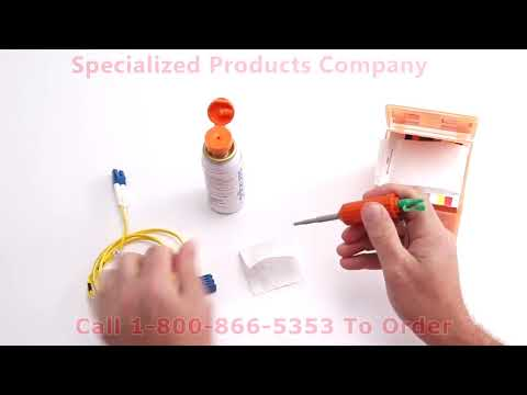 Sticklers Fiber Optic Splice & Connector Cleaner Cleaning Fluid