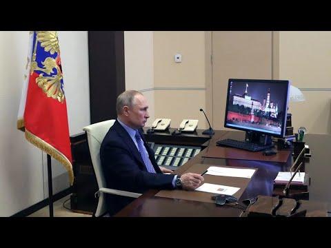 Владимир Путин провел совещание по ситуации вокруг коронавируса