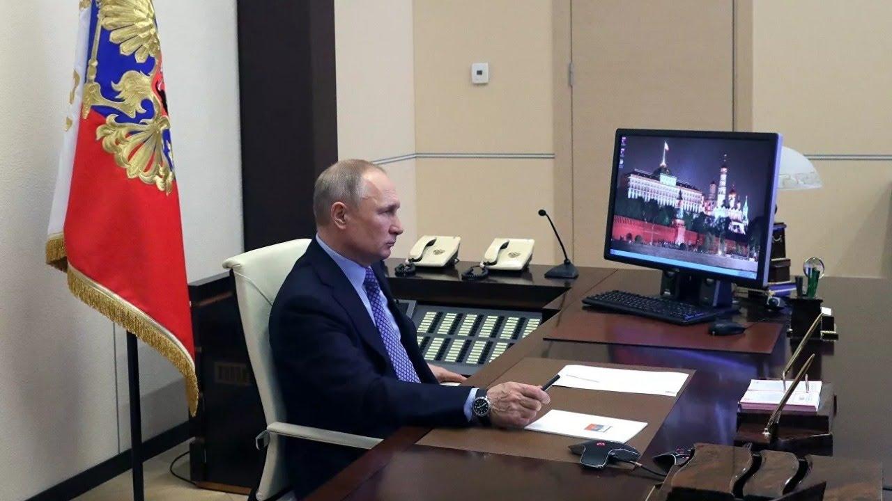 Обращение Путина к губернаторам и полпредам в регионах