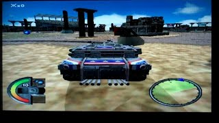 World Destruction League: Thunder Tanks Playstation 2 Gameplay