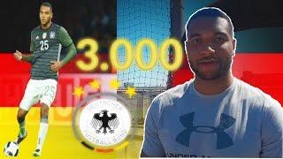 FUßBALLCHALLENGE VS. DEUTSCHEN NATIONALSPIELER (Jonathan Tah) - 3000 ABONNENTEN SPECIAL