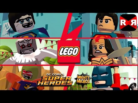LEGO DC Super Heroes Mighty Micros - 6 New Superhero & Supervillain Characters Update