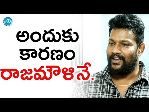 All The Credit Goes To SS Rajamouli - Prabhakar    Talking Movies With iDream