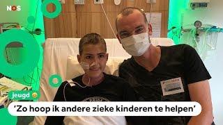 Anemone maakt video's over haar zeldzame bloedziekte