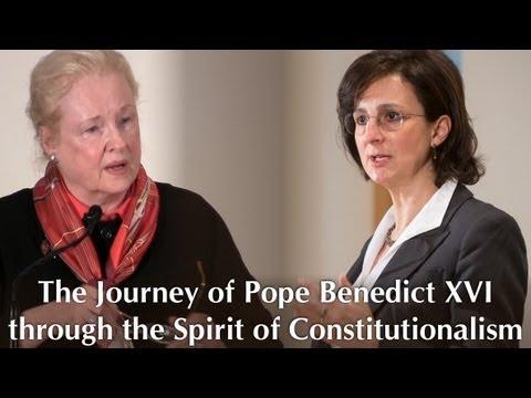 The Journey of Pope Benedict XVI through the Spirit of Constitutionalism