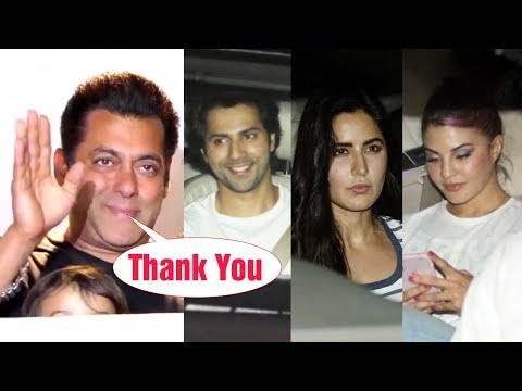 Bollywood Celebrities Meets SALMAN KHAN After Bail | Grand Celebration At Galaxy Apartment